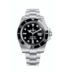 2010 - First Submariner Date in steel and a Cerachrom bezel insert in ceramic.